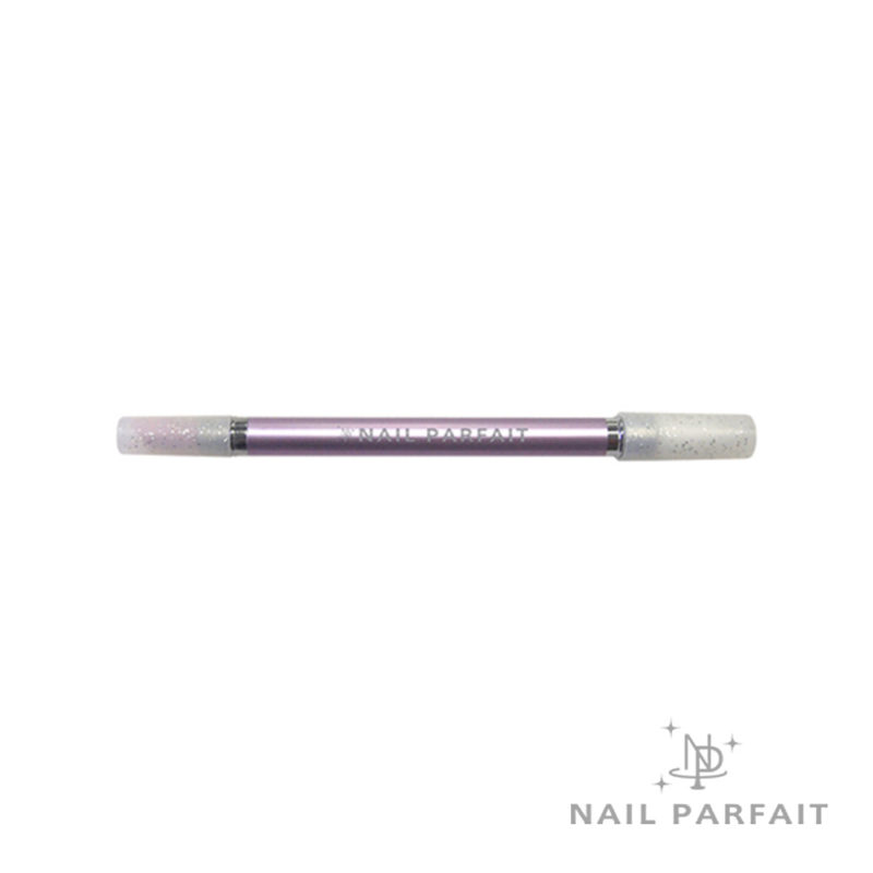 Nail Parfait Ceramic Pusher & Silicone Stick (with cap)