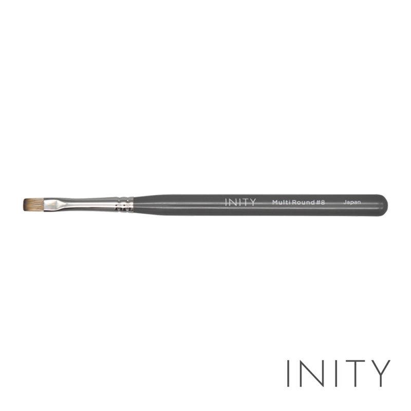 INITY Gel Brush Multi Round #8