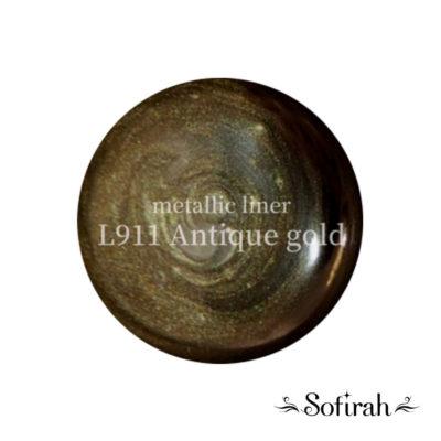 Sofirah Metallic Liner KAGAMI Antique Gold L911