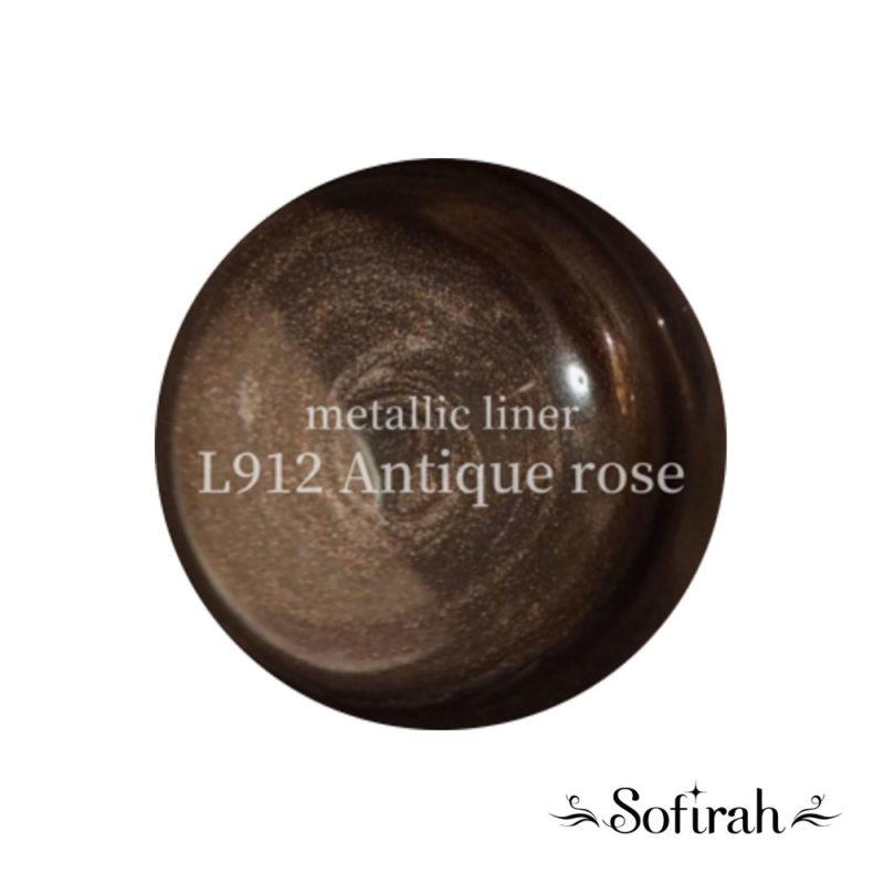 Sofirah Metallic Lliner KAGAMI Antique Rose L910