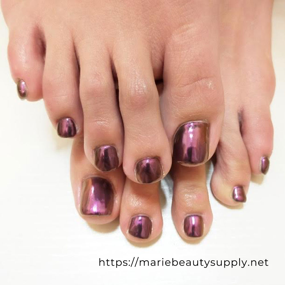"We used black for the base with pink applied on top. There are changes with other mirror powders. PREGEL Magic Powder Rose PREGEL Glossy (Top) 15g PREGEL Mirror Brush PREGEL Non-Wipe Clear (Top) Cangel 14g PREGEL SPIRIT Flat Brush OB-5 Tag: #mirrornails #pinknails #pinkpedicure #pedicure #gelpedicure #gelnails #nails #nailloverd #originalnails #beautifulnails #nailedit #gorgeousnails Use this item. You can buy it here! [products per_page=""8"" ids=""""][su_permalink id="""" class=""more-link""]more »[/su_permalink]"